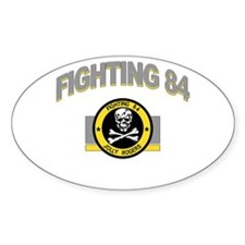 VF-84 Jolly Rogers Oval Decal