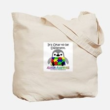 Autism Awareness Penguins Tote Bag