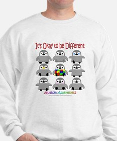 Autism Awareness Penguins Sweatshirt