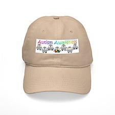 Autism Awareness Penguins Baseball Cap