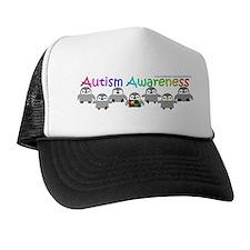 Autism Awareness Penguins Trucker Hat