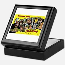 Starved Rock Park Illinois Keepsake Box