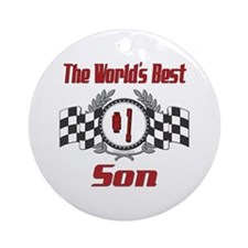 Racing Son Ornament (Round)