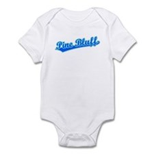 Retro Pine Bluff (Blue) Infant Bodysuit
