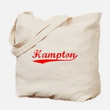 Vintage Hampton (Red) Tote Bag