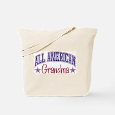ALL AMERICAN GRANDMA Tote Bag