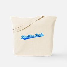 Retro Pinellas Park (Blue) Tote Bag