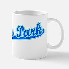 Retro Pinellas Park (Blue) Mug