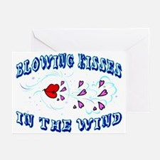 Blowing Kisses Greeting Cards (Pk of 10)