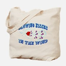 Blowing Kisses Tote Bag