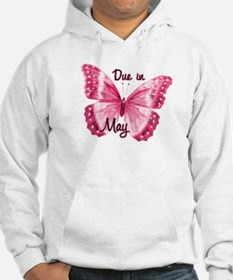 Due May Sparkle Butterfly Hoodie