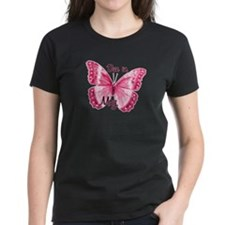 Due May Sparkle Butterfly Tee