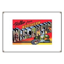 Northern Wisconsin Greetings Banner