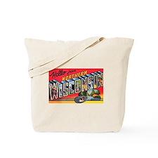 Northern Wisconsin Greetings Tote Bag