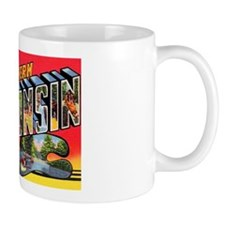 Northern Wisconsin Greetings Mug