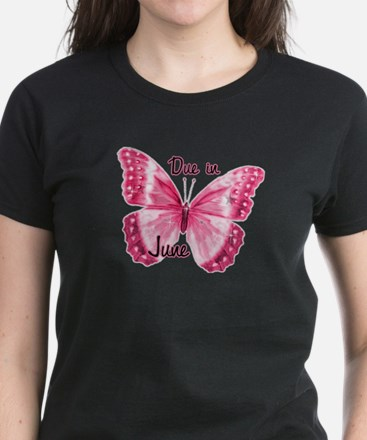 Due June Sparkle Butterfly Tee