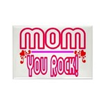 Mom You Rock Rectangle Magnet (10 pack)