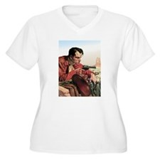 Wounded Cowboy With Gun T-Shirt