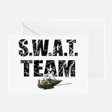S.W.A.T. Team... Greeting Card