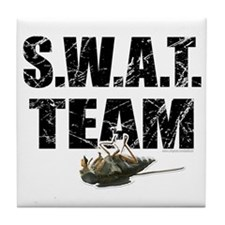 S.W.A.T. Team... Tile Coaster