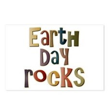 Earth Day Rocks Postcards (Package of 8)
