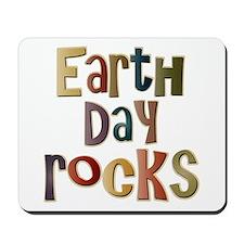 Earth Day Rocks Mousepad