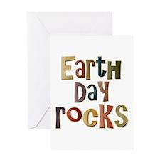 Earth Day Rocks Greeting Card