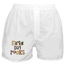 Earth Day Rocks Boxer Shorts