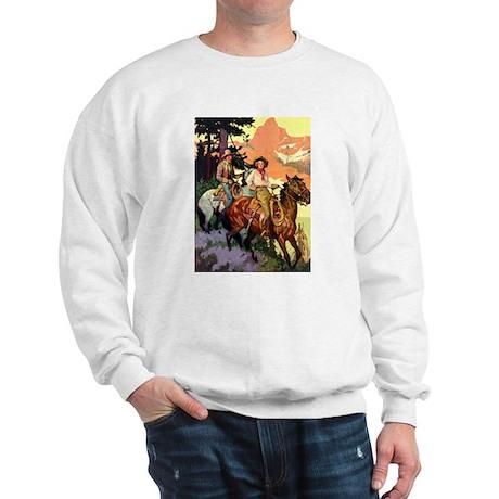 Western Scenic Sweatshirt
