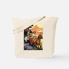Western Scenic Tote Bag
