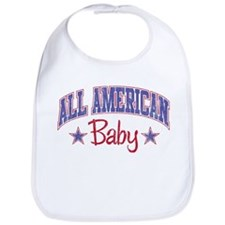 ALL AMERICAN BABY Bib