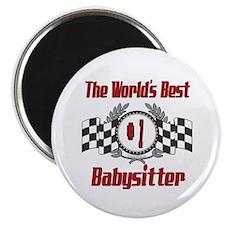 Racing Babysitter Magnet