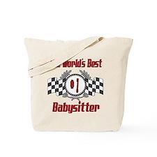 Racing Babysitter Tote Bag