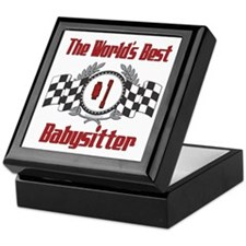 Racing Babysitter Keepsake Box