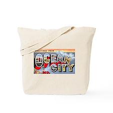 Ocean City Maryland Greetings Tote Bag