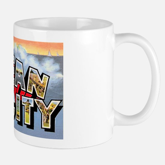 Ocean City Maryland Greetings Mug