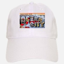 Ocean City Maryland Greetings Baseball Baseball Cap