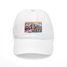 Ocean City Maryland Greetings Baseball Cap