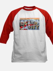 Ocean City Maryland Greetings (Front) Tee
