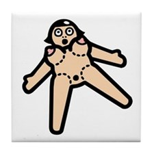 Blow-up Doll Tile Coaster
