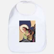 Singing Cowgirl Bib
