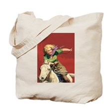 Sexy Cowgirl Tote Bag