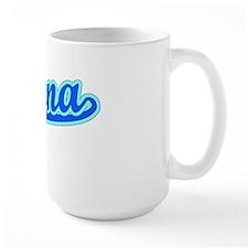Retro Pomona (Blue) Mug