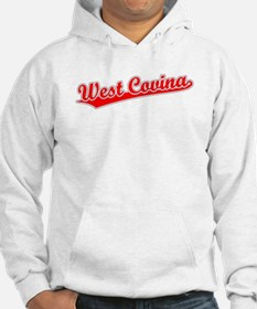 Retro West Covina (Red) Hoodie