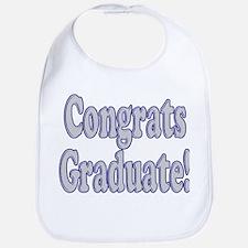 Congrats Graduate! Bib