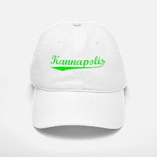 Vintage Kannapolis (Green) Baseball Baseball Cap