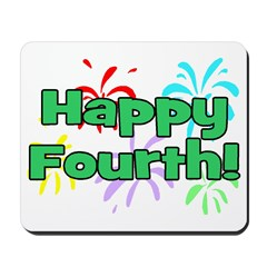 Happy Fourth! Mousepad