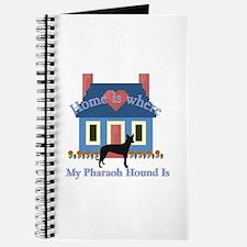 Pharaoh Hound Home Journal