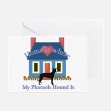 Pharaoh Hound Home Greeting Card