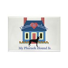 Pharaoh Hound Home Rectangle Magnet (10 pack)